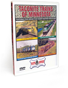 Taconite Trains of Minnesota DVD Video