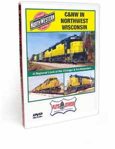C&NW In Northwest Wisconsin DVD Video