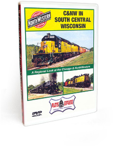 C&NW In South Central Wisconsin DVD Video
