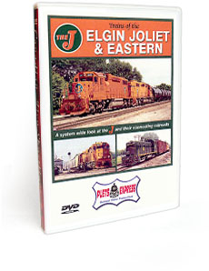 Trains of the Elgin Joliet & Eastern DVD Video