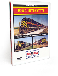 Trains of the Iowa Interstate DVD Video
