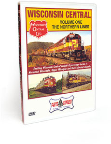 Wisconsin Central <br/> Volume 1 - The Northern Lines DVD Video