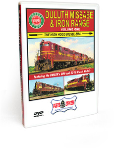 Duluth Missabe & Iron Range <br/> Volume 1 - The High Hood Diesel Era DVD Video