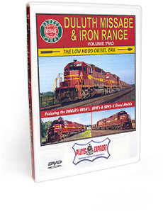 Duluth Missabe & Iron Range <br/> Volume 2 - The Low Hood Diesel Era DVD Video