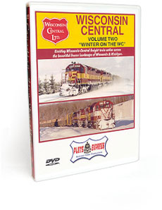 Wisconsin Central <br/> Volume 2 - Winter on the WC DVD Video