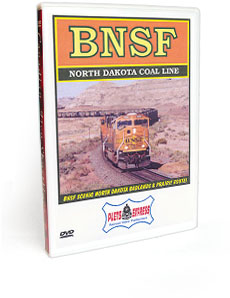 BNSF North Dakota Coal Line DVD Video