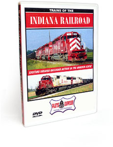 Trains of the Indiana Rail Road DVD Video