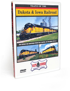 Trains of the Dakota & Iowa Railroad DVD Video