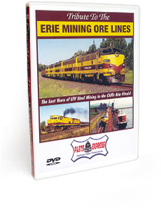 Tribute To The Erie Mining Ore Lines DVD Video