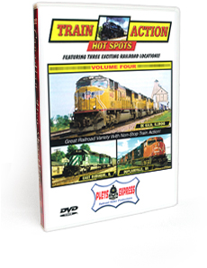 Train Action Hot Spots <br/> Volume 4 DVD Video