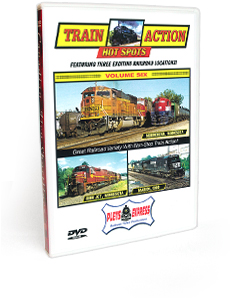 Train Action Hot Spots <br/> Volume 6 DVD Video