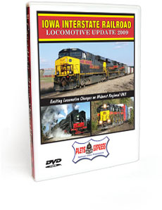 Iowa Interstate Railroad <br/> Locomotive Update 2009 DVD Video