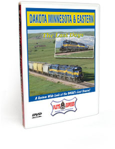 Dakota Minnesota & Eastern Railroad <br/>  The Last Days DVD Video