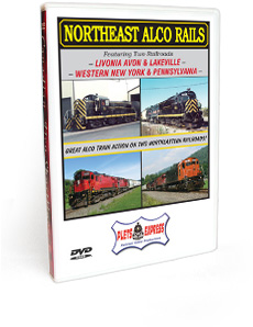 Northeast Alco Rails DVD Video