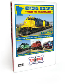Minnesota Shortlines <br/>  Vol. 2 The Central Lines DVD Video