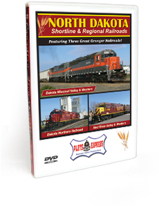 North Dakota Shortline & Regional Railroads DVD Video