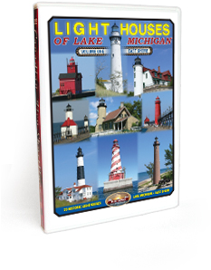 Lighthouses of Lake Michigan <br/> Volume 1 - East Shore DVD Video