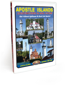 Apostle Islands - Lighthouses & Sea Caves DVD Video
