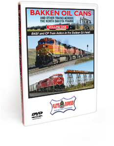 Bakken Oil Cans - Volume 1 and Other Trains Across the North Dakota Prairie DVD Video