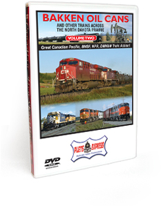 Bakken Oil Cans- Volume 2 and Other Trains Across the North Dakota Prairie DVD Video