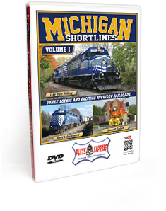 Michigan Shortlines - Volume 1 DVD Video