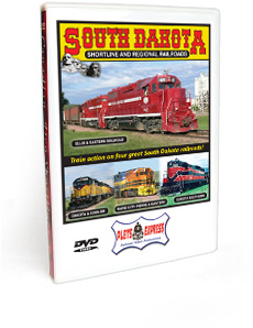 South Dakota Shortline and Regional Railroads DVD Video