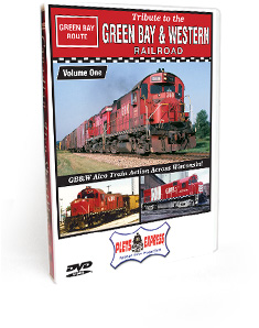 Tribute to the Green Bay & Western Railroad - Volume 1 DVD Video