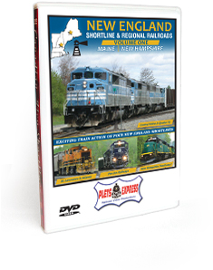 New England Shortline & Regional Railroads <br/>Volume 1 - Maine | New Hampshire DVD Video