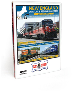 New England Shortline & Regional Railroads <br/>Volume 2 - Massachusetts | Connecticut | New York DVD Video