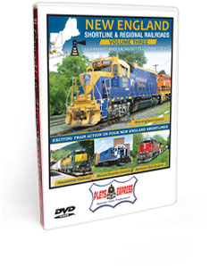 New England Shortline & Regional Railroads <br/>Volume 3 - Vermont | Massachusetts | Connecticut DVD Video